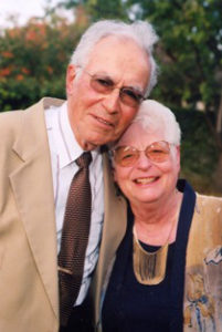 Photo of Ernie and Hannah Biberstein