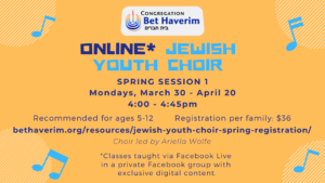 Online Jewish Youth Choir image